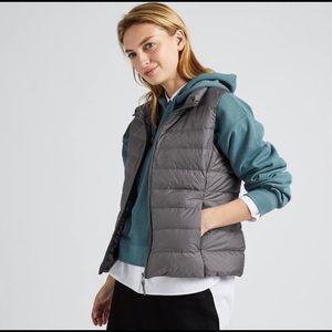 Uniqlo Ultra Light Down Vest in Gray